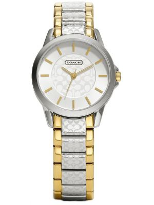 Womens Coach Classic stainless steel gold plated 14501610 Watch
