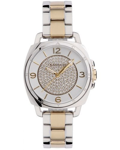 Womens Coach Boyfriend Stainless steel gold plated 14501998 Watch