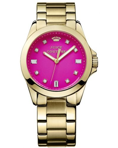 Womens Juicy Couture Stella Vibrant pink gold 1901108 Watch
