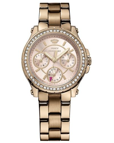 Womens Juicy Couture Pedigree Rose gold 1901106 Watch