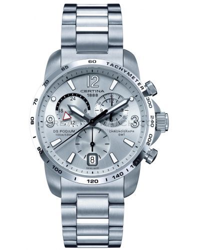 Mens Certina DS Podium GMT Chronograph stainless steel C0016391103700 Watch