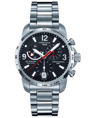 Mens Certina DS Podium GMT Chronograph C0016391105700 Watch