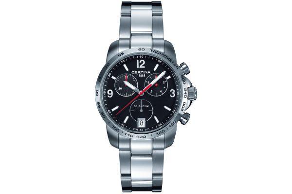 Mens Certina DS Podium Chronograph Watch C0014171105700
