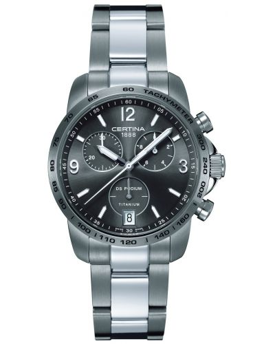 Mens Certina DS Podium Chronograph Titanium C0014174408700 Watch