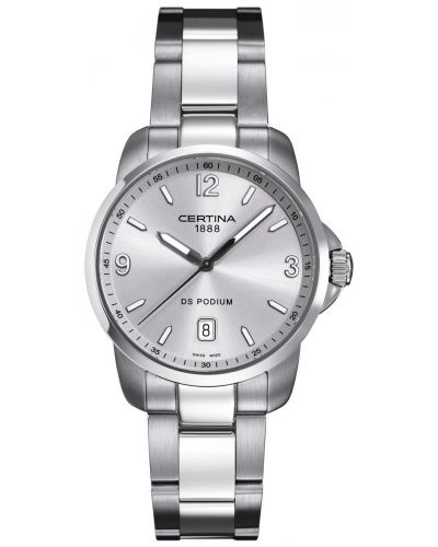 Mens Certina DS Podium Stainless steel  C0014101103700 Watch