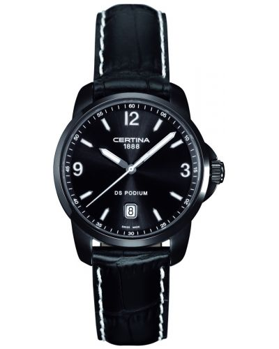 Mens Certina DS Podium Black C0014101605702 Watch