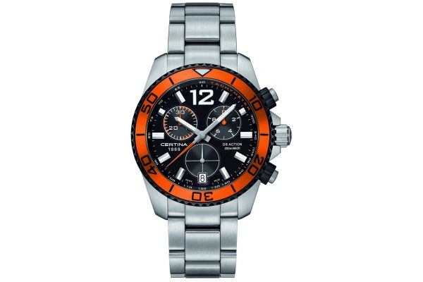 Mens Certina DS Action Chronograph Watch C0134172105701
