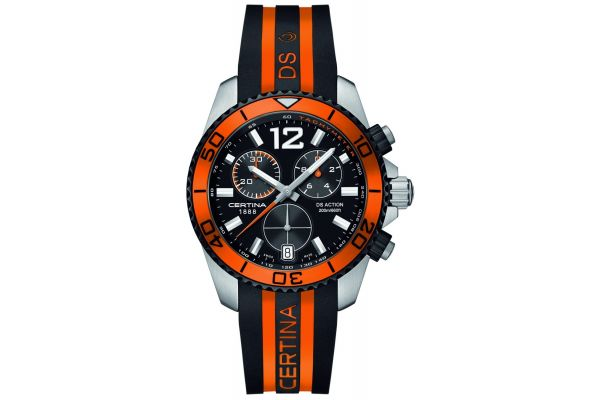 Mens Certina DS Action Chronograph Watch C0134172705701
