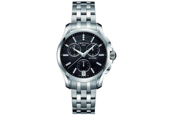 Womens Certina DS Prime Chronograph Watch C0042171105600