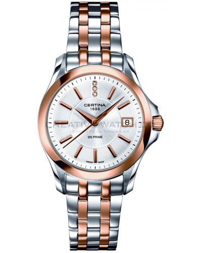 Womens Certina DS Prime Two tone C0042102203600 Watch