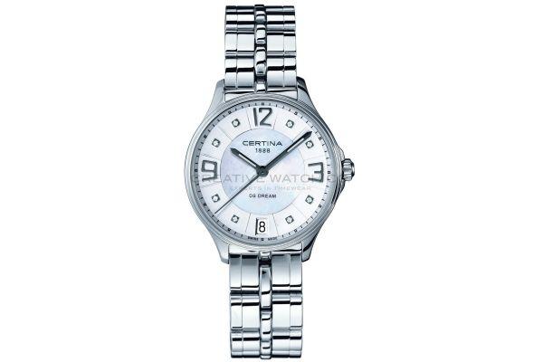 Womens Certina DS Dream Watch C0212101111600