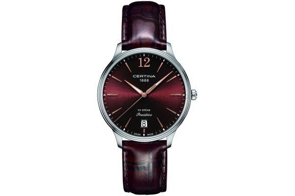 Womens Certina DS Dream Watch C0218101629700
