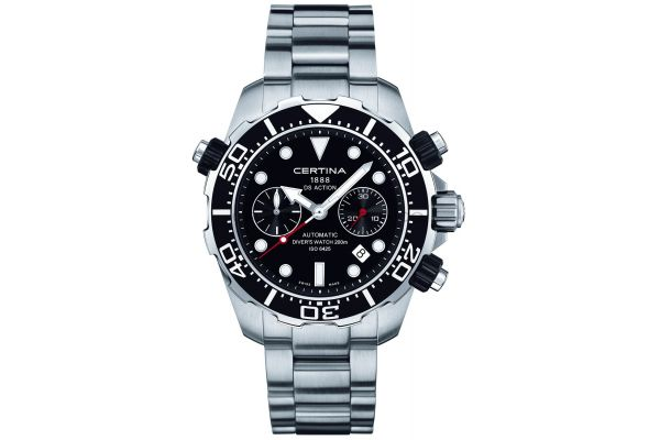 Mens Certina DS Action Chronograph Watch C0134271105100