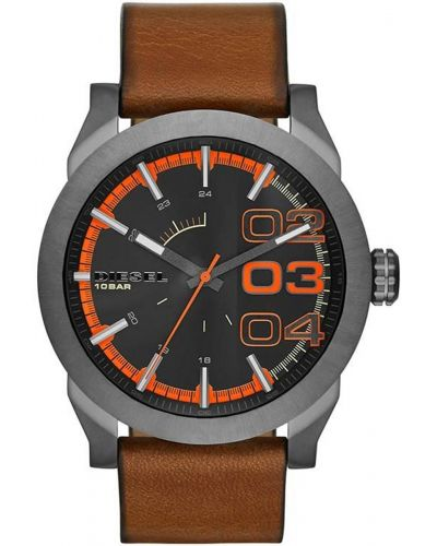 Mens Diesel Double Down black ion plated dz1680 Watch
