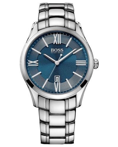 Mens Hugo Boss Ambassador Blue stainless steel 1513034 Watch