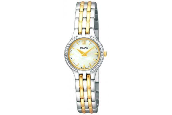 Womens Pulsar  Dress Wear Watch PEGF21X1