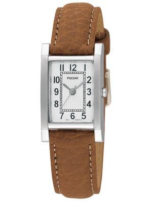 Womens Pulsar  Casual  stainless steel rectangular PC3163X1 Watch