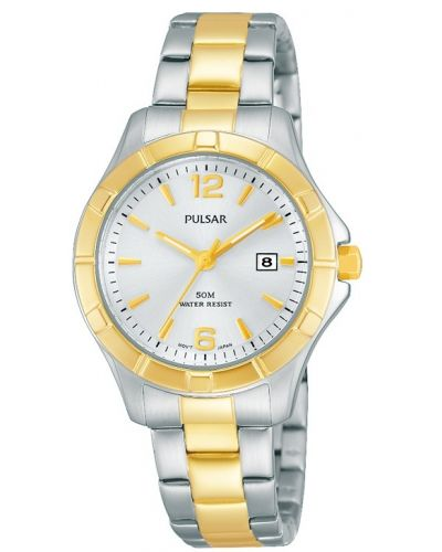 Womens Pulsar  Dress Wear stainless steel gold plated PH7382X1 Watch