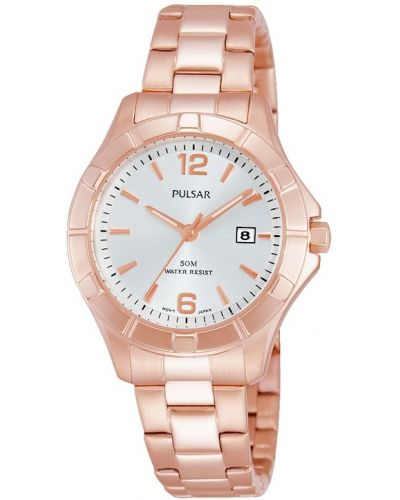 Womens Pulsar  Dress Wear rose gold PH7388X1 Watch