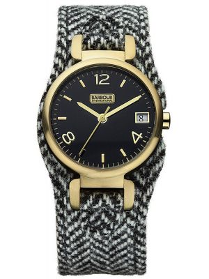 Womens Barbour International Hayle fabric strap bb001gdhb Watch