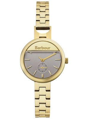 Womens Barbour Harton slim gold plated bb005gd Watch
