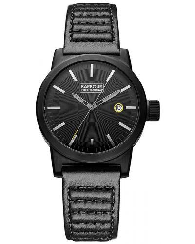 Mens Barbour International Halsted black ion plated bb024bkbk Watch