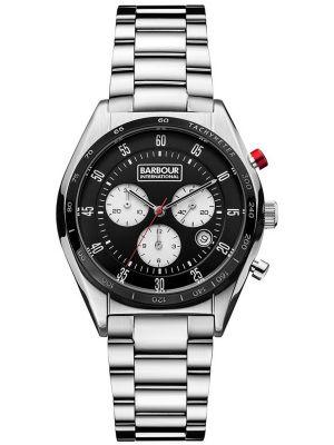 Mens Barbour International Boswell Chronograph bb025bksl Watch