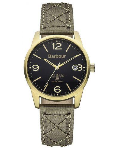 Mens Barbour Alanby khaki fabric strap bb026grgr Watch