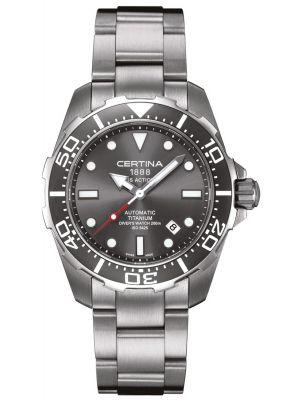 Mens Certina DS Action Diver Automatic Titanium C0134074408100 Watch