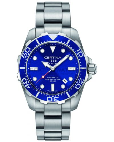 Mens Certina DS Action Diver Automatic C0134071104100 Watch