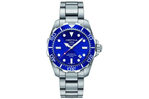 Mens Certina DS Action Watch C0134071104100