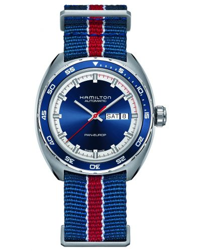 Mens Hamilton Timeless Classic Pan Europ Auto H35405741 Watch