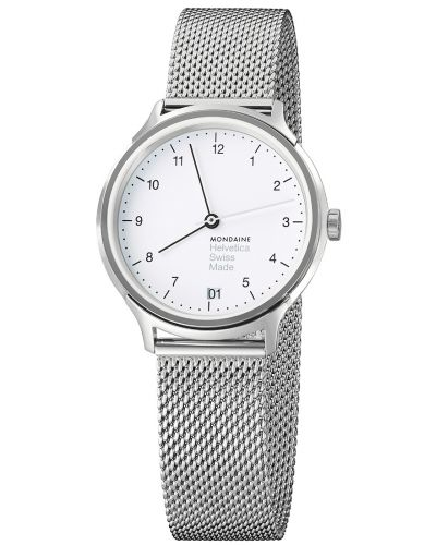 Womens Mondaine Helvetica No.1 Regular 33 MH1.R1210.SM Watch