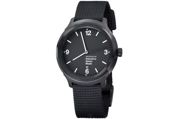 Mens Mondaine Helvetica No.1 Watch MH1.B1221.NB