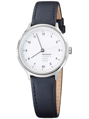 Unisex Mondaine Helvetica No.1 Regular 33 MH1.R1210.LB  Watch