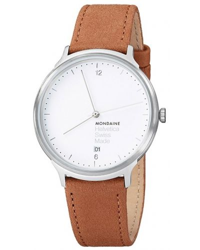 Mens Mondaine Helvetica No.1 Light 38 MH1.L2210.LG Watch