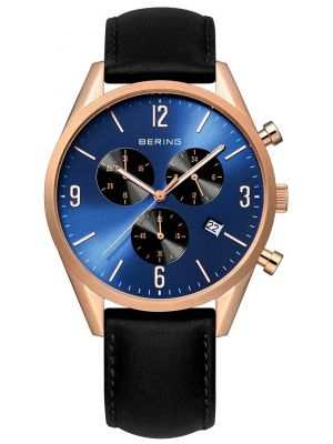 Mens Bering Classic Rose Chronograph 10542-567 Watch