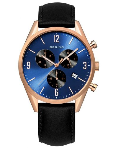 Mens Bering Classic Rose Chronograph 10542-567 Watch