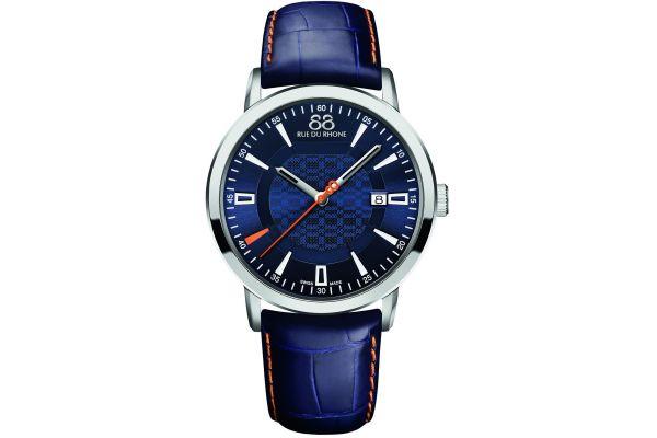 Mens 88 Rue Du Rhone 42mm Quartz Watch 87WA140023
