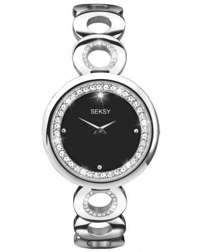 Womens Seksy Eclipse swarovski crystal set dress 2077.37 Watch