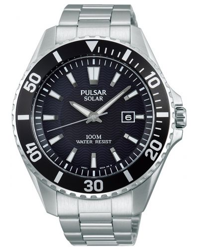Mens Pulsar  Classic stainless steel PX3035X1 Watch