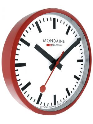 Minimal Swiss Railway Style Office and Home Wall Clock | A990.CLOCK.11SBB