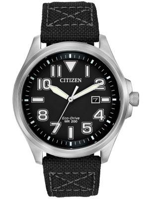 Mens Citizen Nylon Canvas Strap AW1410-08E Watch