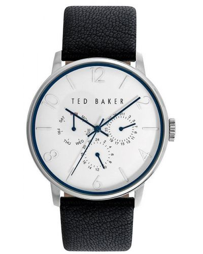 Mens Ted Baker Blue leather strap TE10023491 Watch