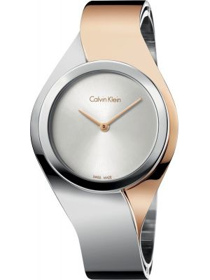 Womens Calvin Klein SENSES Rose two tone K5N2M1Z6 Watch