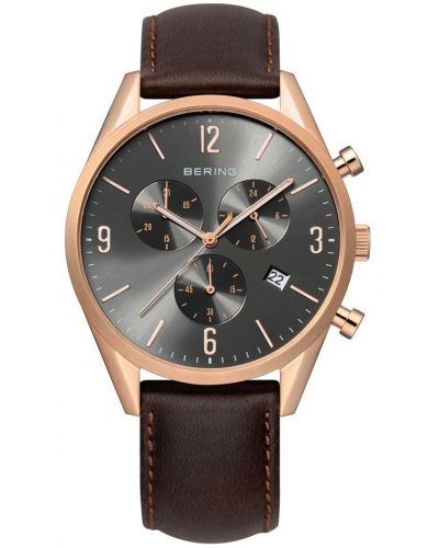 Mens Bering Classic Rose Gold Chrono 10542-562 Watch