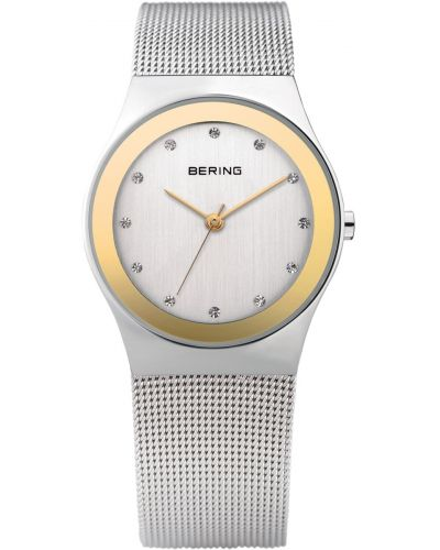 Womens Bering Classic stainless steel gold highlighted 12927-010 Watch