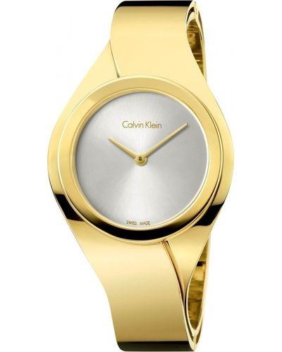 Womens Calvin Klein SENSES Small gold k5n2s626 Watch