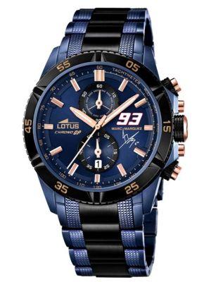 Mens Lotus Chrono GP Marc Marquez Limited Edition Blue 18230/1 Watch