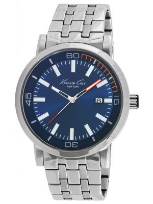 Mens Kenneth Cole Classic blue stainless steel kc10020837 Watch